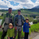 Chris Galvin Fly Fishing Guide With Michael Yelton And Family